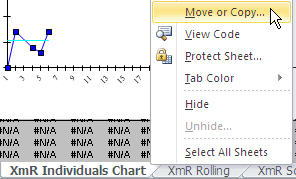 move a sheet in Excel
