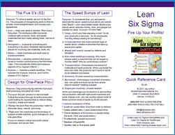 lean six sigma quick reference card