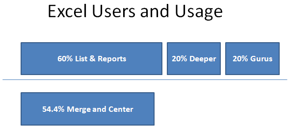 Excel Users and Usage