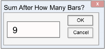 define number of bars on pareto chart