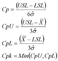 Cp Cpk Formulas versus Pp Ppk Formulas | QI Macros