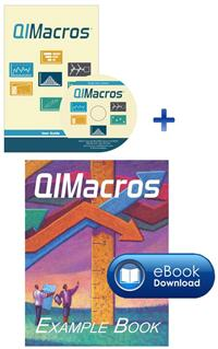 QI Macros Single User License Download & Free Example eBook