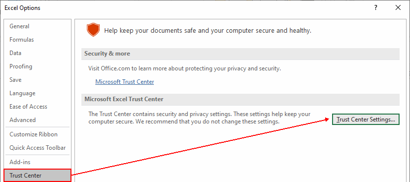 trust-center-settings